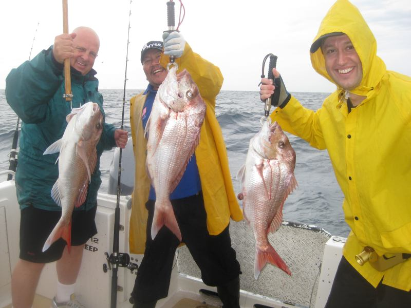 Good fishing in any weather