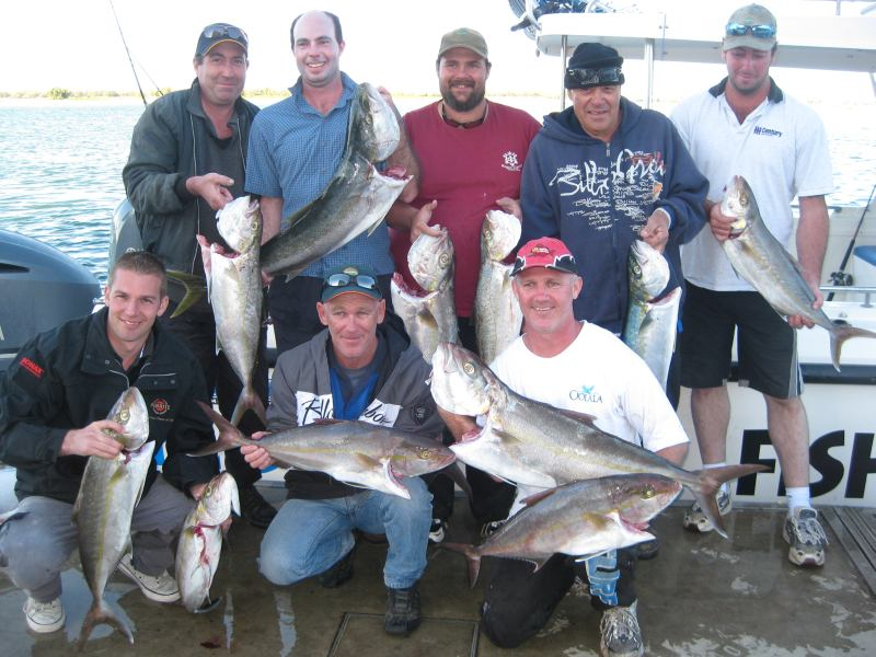 'The Fellas' Fishing Trip